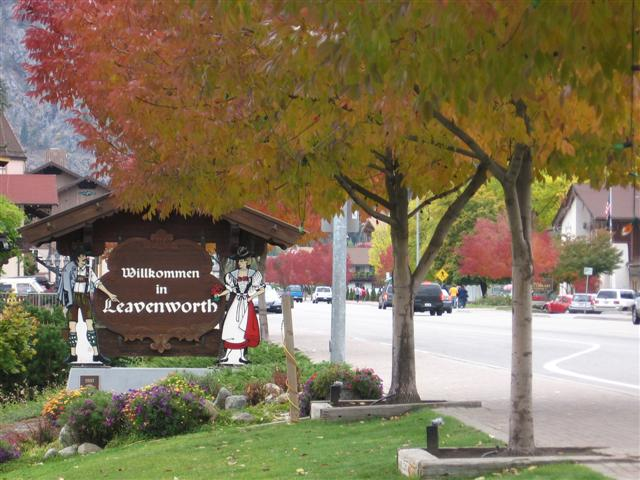 Willkomen in Leavenworth