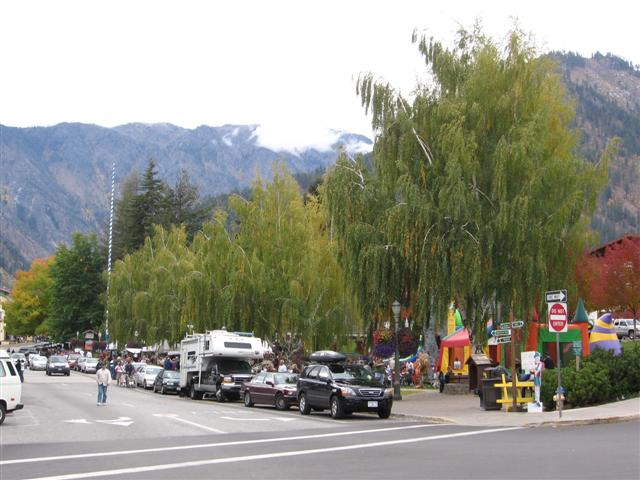 Fall in Leavenworth WA