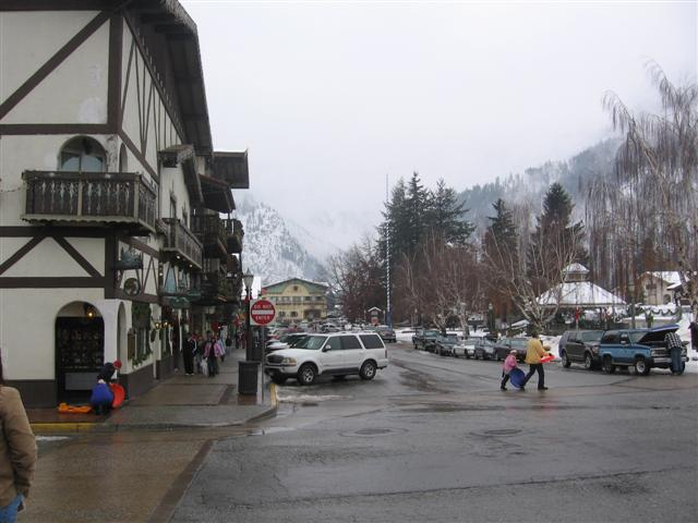 Going to sled in Leavenworth