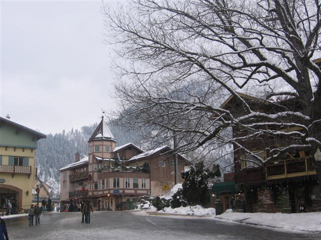 Leavenworth Downtown